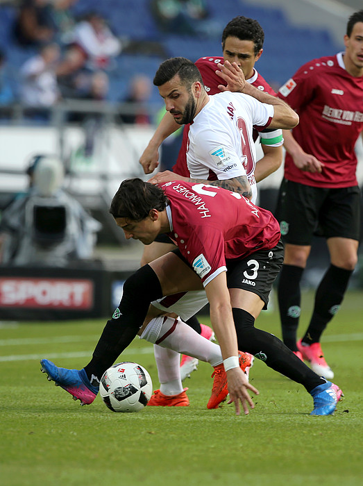 spielstand hannover 96