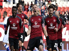Heimsieg: Der Club bezwingt den MSV Duisburg 3:1