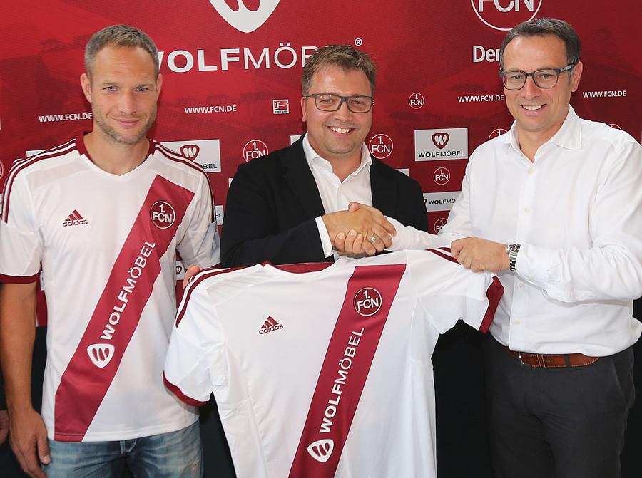 1. FC Nürnberg: WOLF MÖBEL neuer Hauptsponsor des 1. FC Nürnberg
