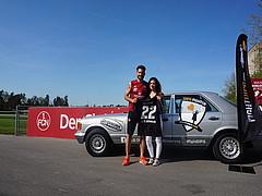 DIPG-Fighter: Valentini überreichte Gewinner-Trikot