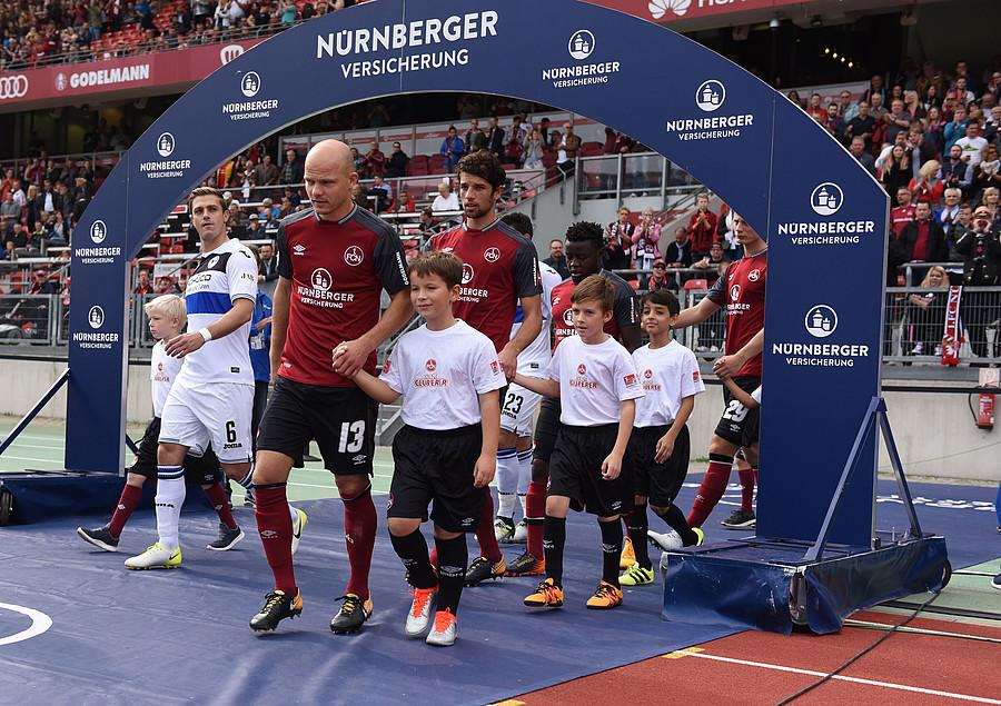 1 Fc Nürnberg Jetzt Bewerben Einlaufkind Für Heimspiel Gegen Kiel