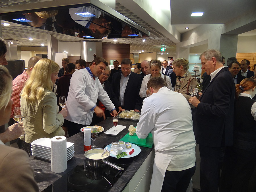 1 Fc Nürnberg Business Cooking Bei Segmüller