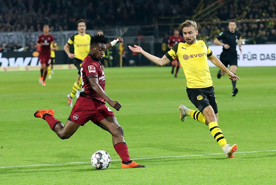 1 Fc Nürnberg Lehrstunde In Dortmund Club Unterliegt Bvb 07
