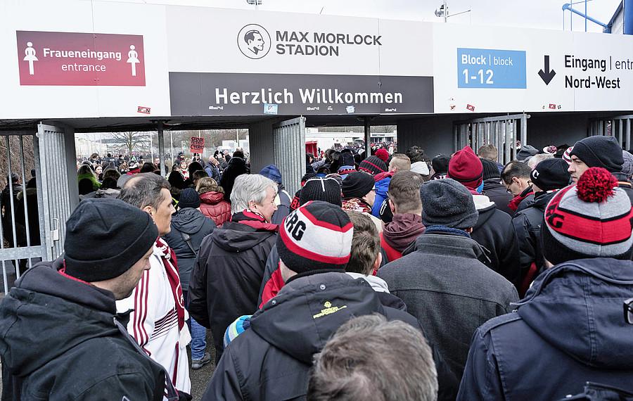 1 Fc Nürnberg Orga Hinweise Zum Heimspiel Gegen Eintracht Frankfurt