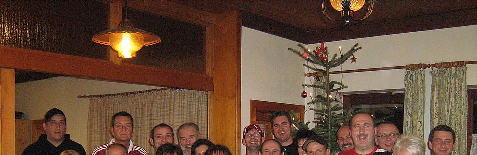 1 fc n rnberg weihnachtsfeier beim fan club rot schwarz. Black Bedroom Furniture Sets. Home Design Ideas